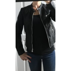 check-out ef059 a2e67 Manteaux & Vestes Cache Cache Femme Simili cuir : Manteaux ...
