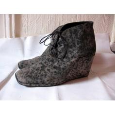 Bottines & low boots à compensés No Name  pas cher