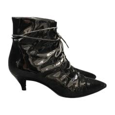 High Heel Ankle Boots Saint Laurent