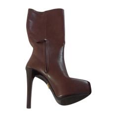 FemmeBottes Prada luxe 80Videdressing Bottes jusqu'à TFJ3K1cl