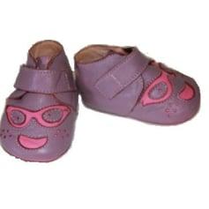 Slippers EASY PEASY Purple, mauve, lavender