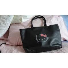 Sac XL en cuir HELLO KITTY BY VICTORIA COUTURE Noir