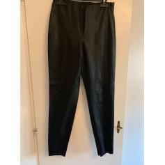 Pantalons Zara Femme Simili cuir : Pantalons