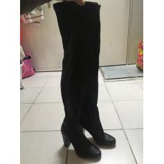 Bottes cuissardes Zara Femme : Bottes cuissardes jusqu'à 80
