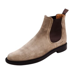 Stiefeletten, Ankle Boots Santoni