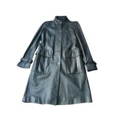 Manteau en cuir Burberry
