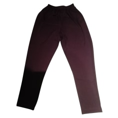 Pantalon droit M Missoni  pas cher