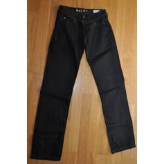 Jeans droit Roxy  pas cher