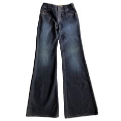 Jeans évasé, boot-cut John Galliano  pas cher