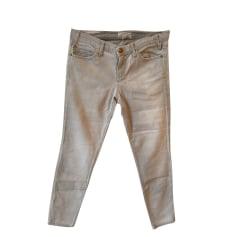 Jeans slim Current/Elliott  pas cher