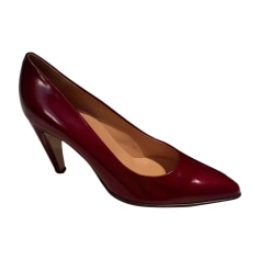 chaussure natural spin rouge noir femme