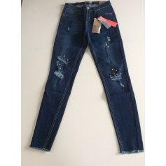 Jeans slim Blue Rags  pas cher