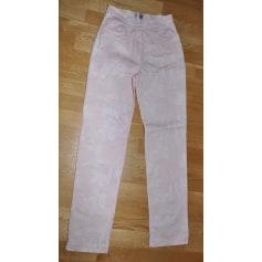 Pantalon droit Antonelle  pas cher