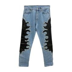 Jeans large, boyfriend Moschino  pas cher