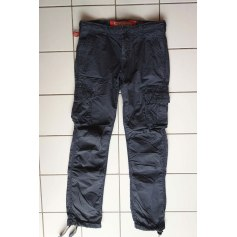Jeans large Superdry  pas cher