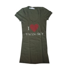 Top, tee-shirt Twin-Set Simona Barbieri  pas cher