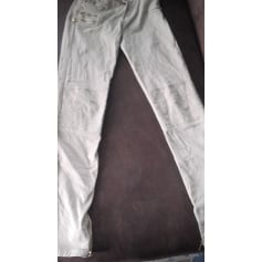 Pantalon slim, cigarette Sud Express  pas cher