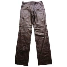 Pantalon droit BCBG Max Azria  pas cher