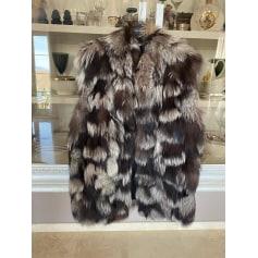 Gilet sans manches en fourrure Dolce & Gabbana  pas cher