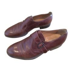 Chaussures à boucles Gucci  pas cher