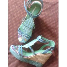 Sandales compensées Desigual  pas cher