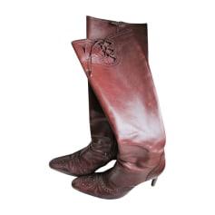 High Heel Boots Ralph Lauren