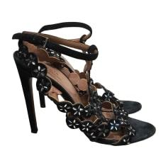 Sandales à talons Alaïa  pas cher
