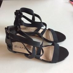 Sandales compensées Laureana  pas cher