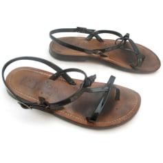 Chaussures à boucle KJACQUES  pas cher