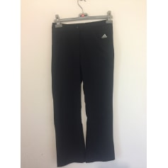 Pantalon droit Adidas  pas cher