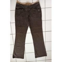 Pantalon évasé Thomas Burberry  pas cher