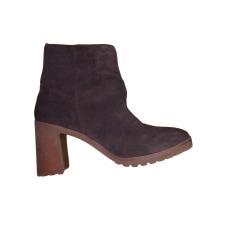 Bottines & low boots à talons Timberland  pas cher