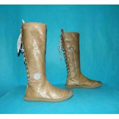 Chaussures Pataugas Femme Beige, camel : Chaussures jusqu'à