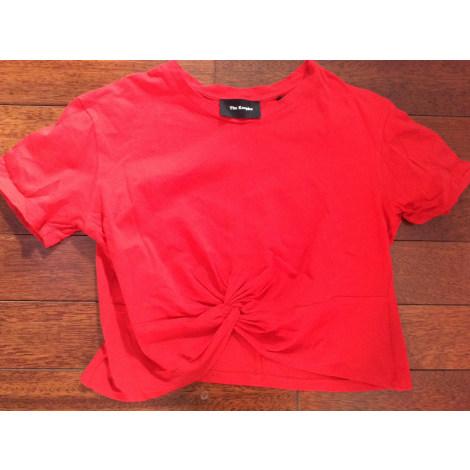 Top, tee-shirt THE KOOPLES Rouge, bordeaux