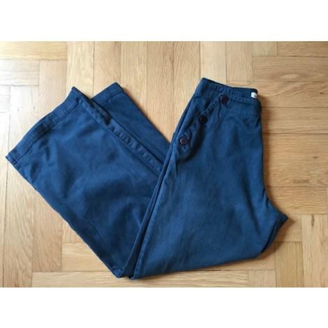 Pantalon large BLANC BLEU Bleu, bleu marine, bleu turquoise