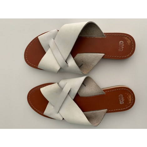 Sandales plates  ASOS Blanc, blanc cassé, écru
