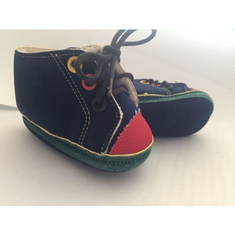 Lace Up Shoes PETIT BATEAU Blue, navy, turquoise