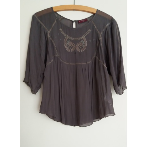 Blouse ONE STEP Gris, anthracite