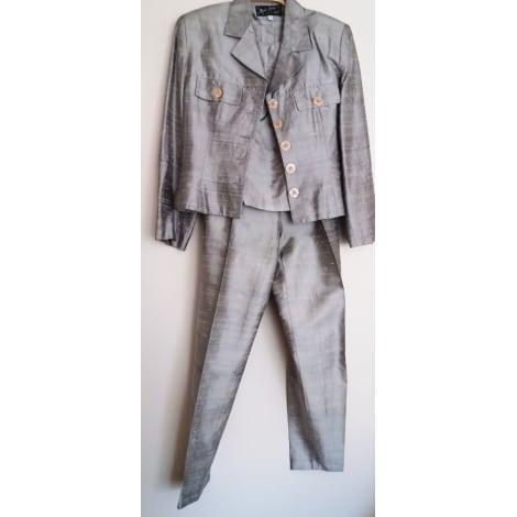 Tailleur pantalon VINTAGE Gris, anthracite