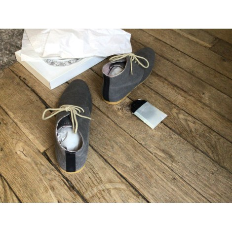 Lace Up Shoes SCHMOOVE Gray, charcoal