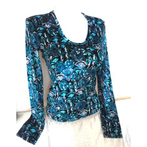 Top, tee-shirt MORGAN Bleu, bleu marine, bleu turquoise