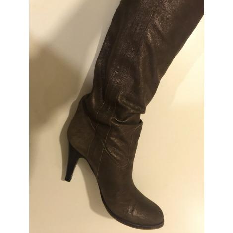 Bottines & low boots à talons L'AUTRE CHOSE Doré, bronze, cuivre