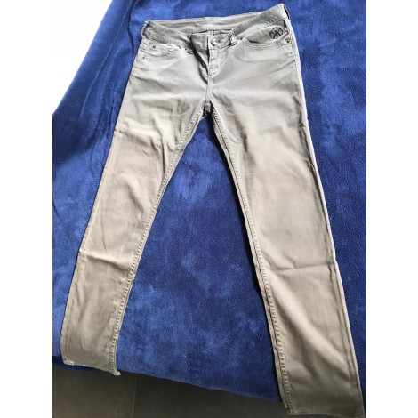 Pantalon droit DDP Gris, anthracite