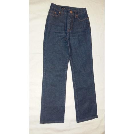 Jeans évasé, boot-cut JEAN PAUL GAULTIER Bleu, bleu marine, bleu turquoise
