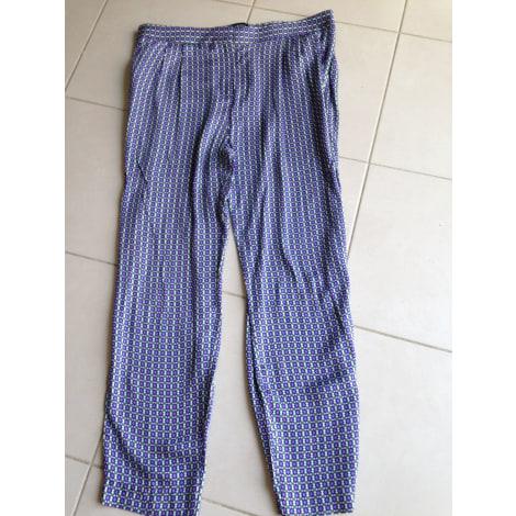 Pantalon droit CAROLL Multicouleur
