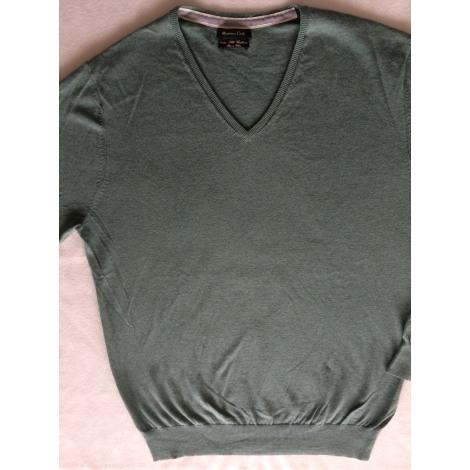 Sweater MASSIMO DUTTI Green