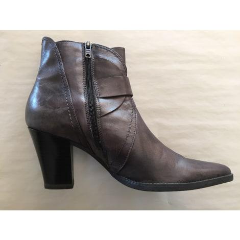 8e74dbccc2b Bottines   low boots à talons MARCO TOZZI 40 gris - 7306427