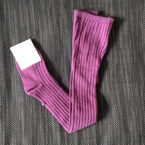 Strumpfhose LILI GAUFRETTE Violett, malvenfarben, lavendelfarben