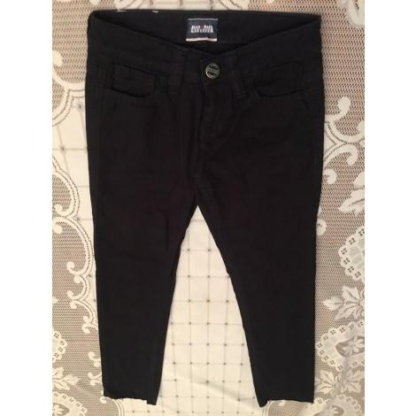 Jeans droit JEAN PAUL GAULTIER Noir