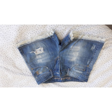 Short en jean BONOBO Bleu, bleu marine, bleu turquoise